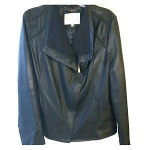Rachel Roy genuine leather jacket (new)